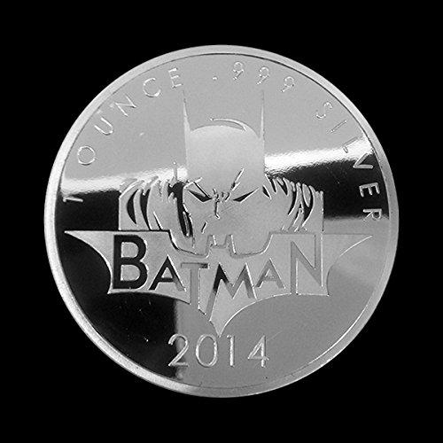 .999/Silber vergoldet Batman Marvel Super Hero Comic M/ünze Token 31/g Unzen