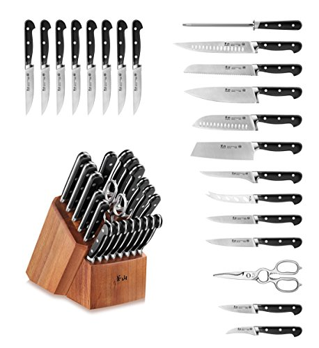 Cangshan V2 Series 59649 22-Piece German Steel Forged Knife Block Set