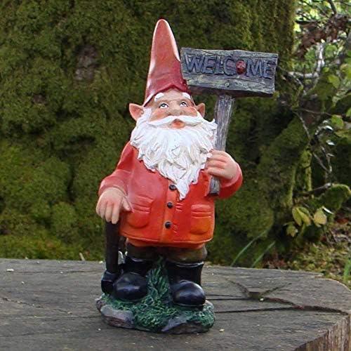 Pixieland Bruce - Figura Decorativa de gnomo de jardín (26 cm): Amazon.es: Jardín