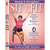 Sit And Be Fit Stretch And Strengthen Award-Winning Senior Fitness Chair Exercise...