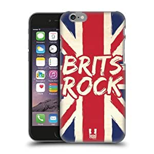 Head Case Designs Brits Rock British Pride Protective Snap-on Hard Back Case Cover for Apple iPhone 6 4.7