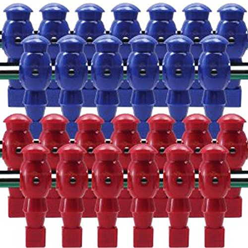 GHP 26-Piece Foosball Blue & Red Men Table Soccer Football Team Player