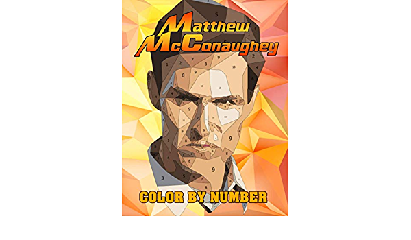 Matthew McConaughey Color By Number: True Detective Star and ...