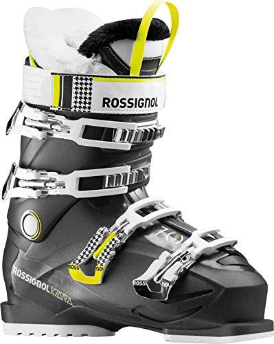 Rossignol Womens Ski Boots - Rossignol Kiara 70 Women's Ski Boots Black Metal 255