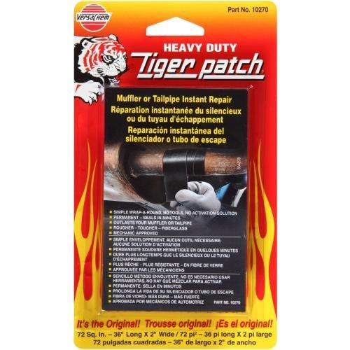 (VersaChem Tiger Patch Muffler & Tailpipe Wrap (10270), Model: , Outdoor&Repair Store )