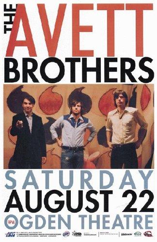 Avett Brothers Poster Handbill The