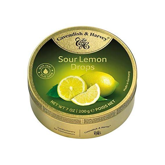 Cavendish & Harvey Sour Lemon Drops-200G- Germany