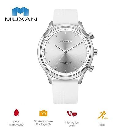 Amazon.com: MUXAN - Reloj inteligente con correa de silicona ...