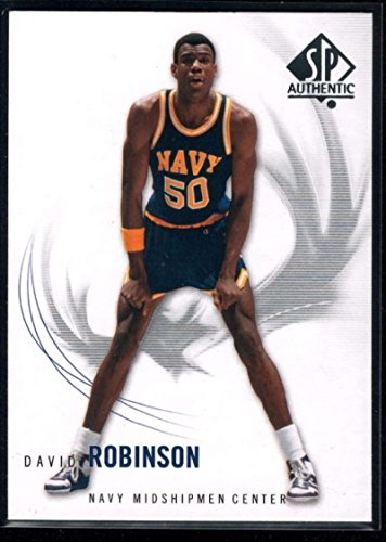- 2010-11 SP Authentic Basketball #5 David Robinson Navy Midshipmen Official NCAA Trading Card From Upper Deck