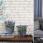 MyGift-Decorative-Artificial-Lavender-Flower-Plants-in-Rustic-Metal-Pots-Set-of-2