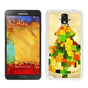 2014 New Style Christmas Tree White Samsung Galaxy Note 3 Case 16