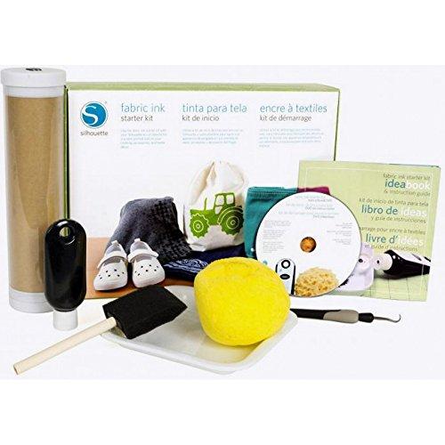 Silhouette KIT-INK-3T Fabric Ink Starter Kit