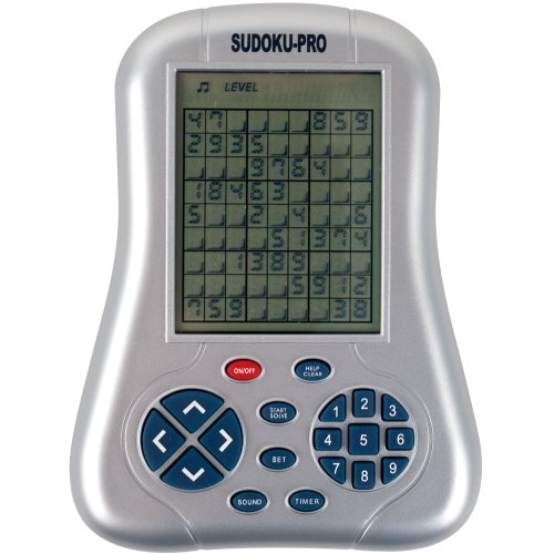 Screen Handheld Sudoku Game (Sudo-Q-Mate Pro - One Million Sudoku Puzzles Handheld Game - As Seen On TV)