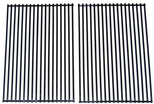 - Porcelain Coated Stainless Steel Wire Cooking Grid for DCS and Charbroil Grills (Set of 2)