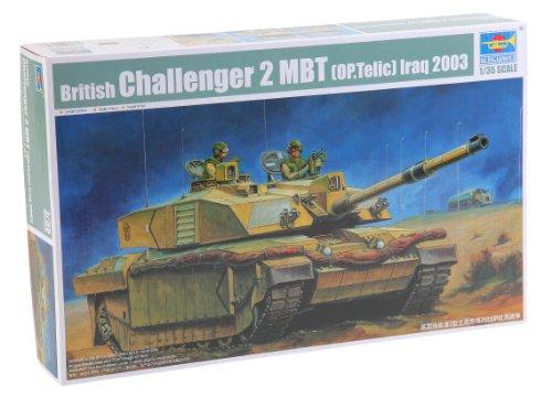 Tank British Main Battle (Trumpeter Operation Telic Basra Iraqi 2003 British Challenger II Main Battle Tank (1:35 Scale))