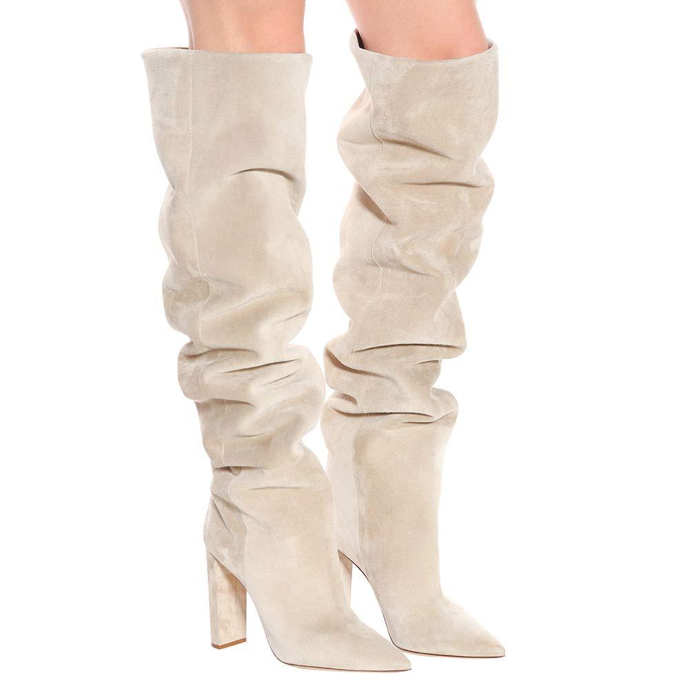 Invierno Moda Mujer Calzado Hy Tacón De Anteotoño Botas 4YwaExIqE