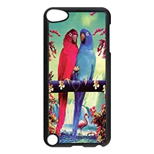 Funny Parrot,Cute Bird Protective Case 147 FOR Ipod Touch 5 At ERZHOU Tech Store