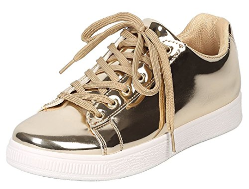 Cambridge-Select-Womens-Round-Toe-Classic-Basic-Solid-Fashion-Sneaker