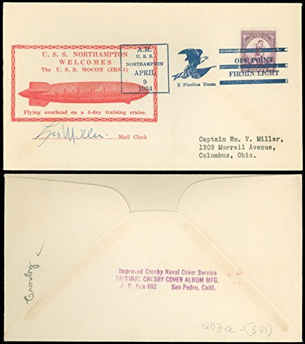 4 9 34 Uss Macon   Uss Northampton  Mocon   Unlisted Red   Normally In Green