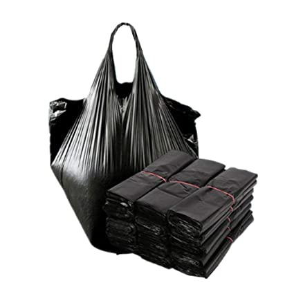 VANTIYA Bolsas de Basura Negro (100 Piezas) Desechables ...