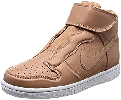 Nike Womens Dunk Hi Ease Trainers 896187 Sneakers Shoes (UK 5 US 7.5 EU 38.5, Dusted Clay White 200)