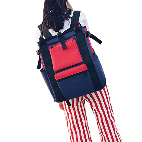 Majome School Bags High Capacity School Bags Student Backpack Bag Oxford Tour Of Red Men