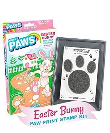 Hoppy Paws Easter Bunny Paw Print Stamp Kit