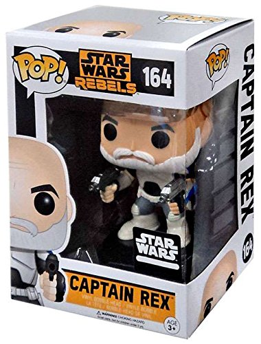 Rex Star Wars (Funko Pop Captain REX Star Wars Rebels Smuggler's Bounty March 2017 Exclusive #164)