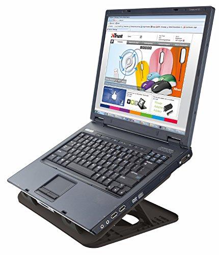 Trust Cyclone - Base de refrigeración para ordenador portátil de hasta 16