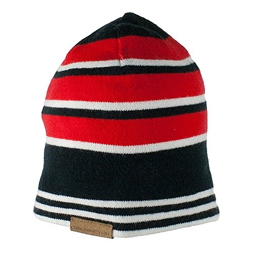 Obermeyer Boys Traverse Knit Hat Red Teen