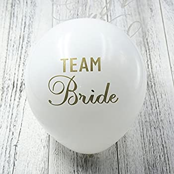 BlackTEAM BRIDE 12 Pcs Baby Shower Balloon With Gold Glitter Shiny Its A Girl Its A Boy Printed for Happy New Year Eve Party Decoration Baby Shower Boy Girl Adult Birthday Decorations