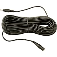 65 Foot 20 Meter DC Power Extension Cable with 1.3mm x 3.5mm Jack