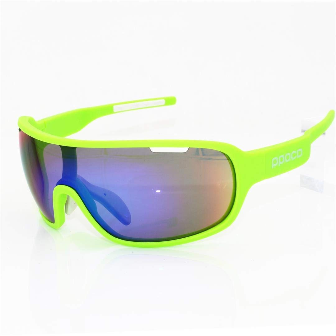 BAOYIT Cycling Glasses Outdoor Sports Windproof Mountain Bike Sunglasses Men and Women (Color : E) by BAOYIT