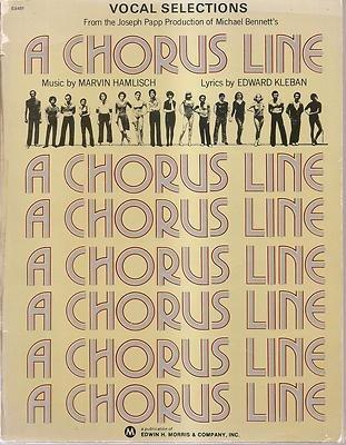 A Chorus Line: Vocal Selections