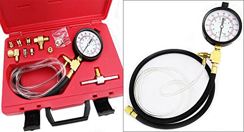 XtremepowerUS Professional Automotive Injected Injection Systems Gas Fuel Pressure Testers