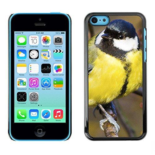 Premio Sottile Slim Cassa Custodia Case Cover Shell // F00002988 Great Tit // Apple iPhone 5C