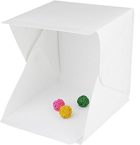 Portátil Mini pequeño LED plegable caja de luz softbox para ...