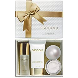 OROGOLD 24K Gold Luxury Package 3 | Beauty Gift Set for Women