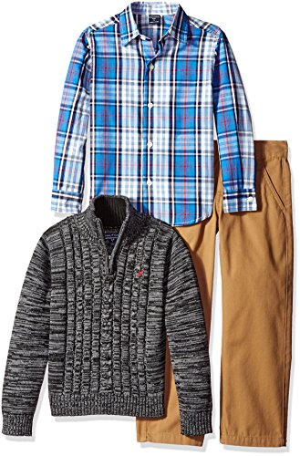 nautica-little-boys-toddler-three-piece-set-with-woven-shirt-zip-sweater-and-flat-twill-pant-coal-he