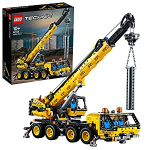 LEGOTechnicGruMobileGiocattolo,SetdaCostruzionediVeicoliperl'Edilizia,42108 LEGO