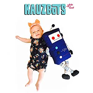 KAUZBOTS - Plush Robots Plushies Baby Stuffed Animals - Each Purchase Helps Build Fresh Water Wells (KRUZ)