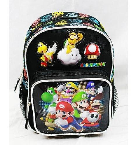 Mini mochila - Nintendo - Super Mario Bros - Grupo Nueva Escuela Bolsa nn10990: Amazon.es: Juguetes y juegos
