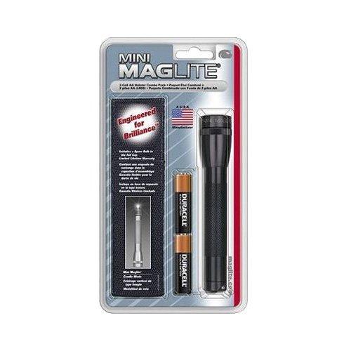 Maglite Mini-Mag Flashlight AA Holster Combo Pack (Black)