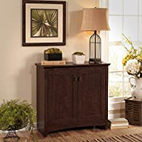 Bush Furniture Buena Vista 2 Door Small Storage Cabinet
