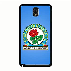 PC Samsung Galaxy Note 3 N9005 Mobile Case Personality FC Blackburn Rovers Phone Case Rose Pattern