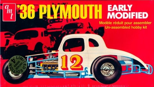 (#8667 AMT '36 Plymouth 1/25 Scale Model Kit)
