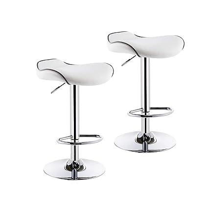 Groovy Amazon Com Hqcc Bar Chair 2 Piece Set Modern Minimalist Bralicious Painted Fabric Chair Ideas Braliciousco