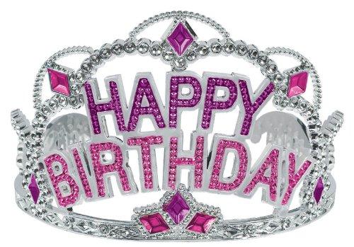 Happy Birthday Tiara Party Accessory, Health Care Stuffs