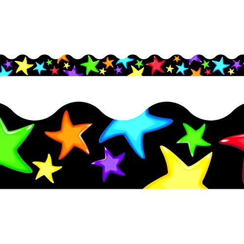 TREND enterprises, Inc. Gel Stars Terrific Trimmers, 39 ft