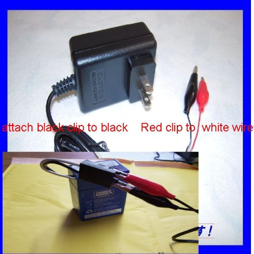 6v fast rapid quick charger for power wheels 6v blue. Black Bedroom Furniture Sets. Home Design Ideas
